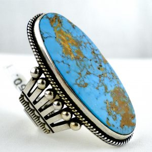 Navajo,Edison,Sandy,Smith,Turquoise,Ring