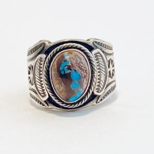 Gary Reeves,Navajo,Turquoise,Sterling silver