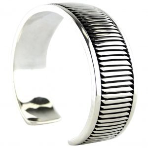 Allison Snowhawk Lee,Sterling, Cuff Bracelet