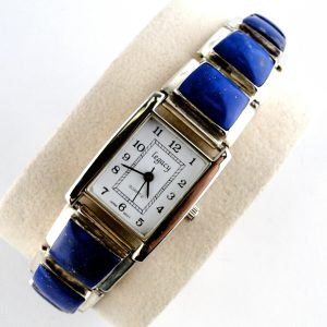 Native,American,Lapis,Lazuli,Sterling,Silver,Watch,by, A M LISTER