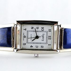 Native,American,Lapis,Lazuli,Sterling,Silver,Watch,by,A M LISTER