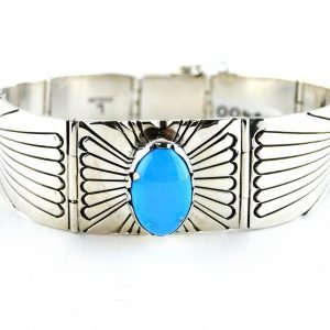 Native,American,Turquoise,Sterling,Silver,bracelet