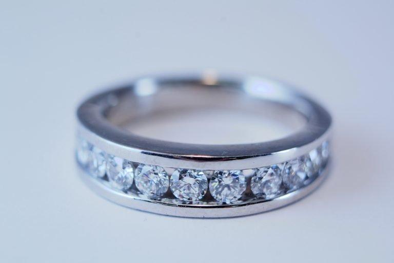 1Ct.T.W.,Diamond,Platinum,Ring,Band