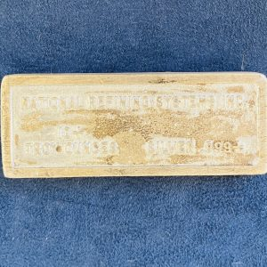 Rare,Vintage,National,Refining,Systems,Silver,10,oz,Ingot,Bar