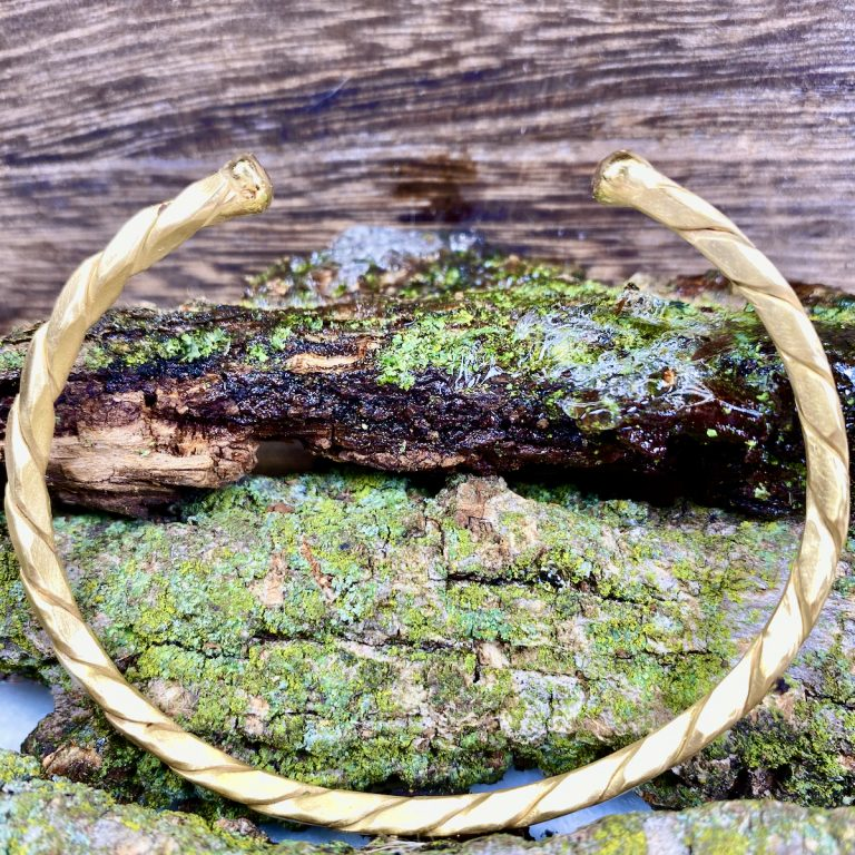 14k Yellow Gold,Unisex,Cable,Bracelet,Handcrafted
