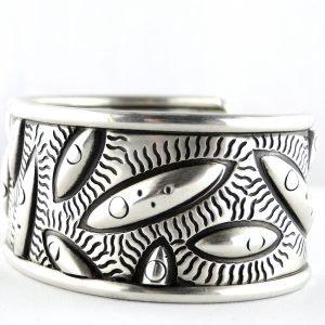 Cody Sanderson,Sterling Silver,Cuff,Bracelet