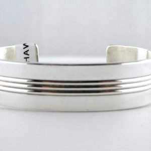Tom Hawk,Sterling,Silver,Cuff,Bracelet,Signed